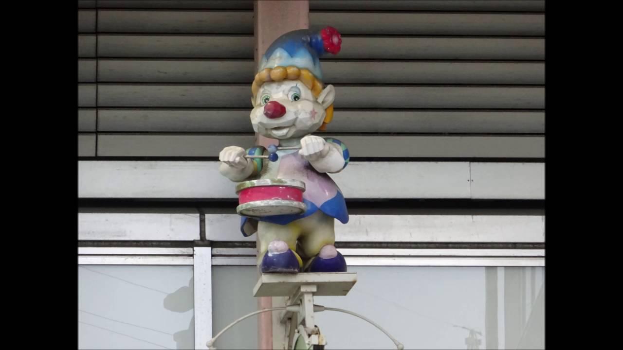 【レポ番外】綾瀬駅 商店街サンアヤセ「天井面仕掛け時計」  残された人形達の現状報告【スライドショー】