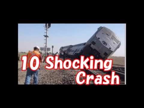衝撃の列車事故10選     10 Shocking Train Crash