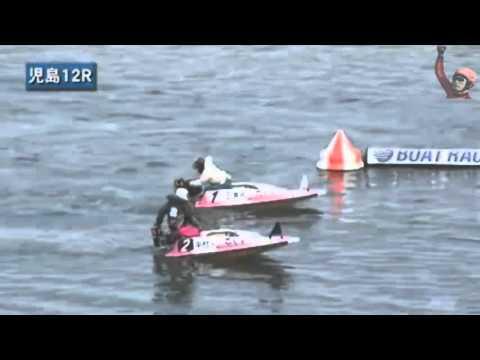 ボートレース競艇 エンスト連チャンで奥の手に出た1号艇
