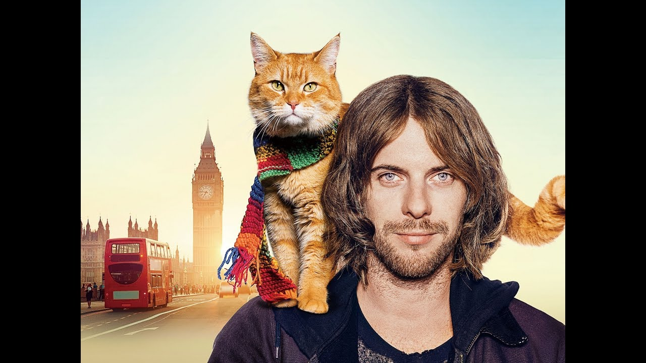 世界一有名なスター猫にキャサリン妃も思わずニッコリ!映画『ボブという名の猫 幸せのハイタッチ』予告編