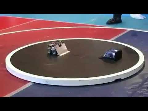 相手を瞬殺した最強ロボット
