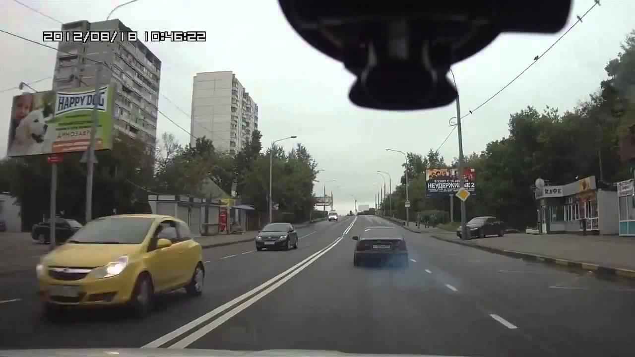 公道レース中に対戦相手がスリップして事故る。ドライブレコーダー
