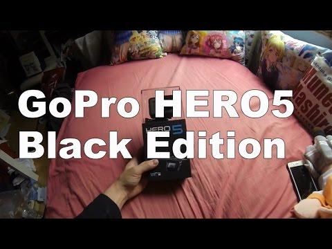 モトブログ(?)  GoPro HERO5 Black Edition  開封と新機能を見てみる。