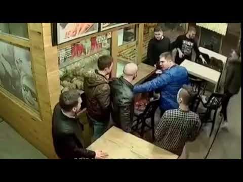 飲食店でケンカ!仲裁に入った人がキレた!