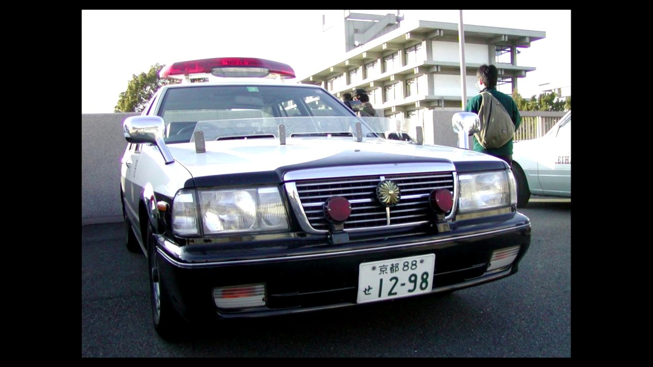2003年前後の警察車両 パトカー、白バイ、特科車両