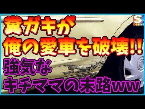 【スカッとする話】他人の子が俺の車を破壊!?強気なキチママの末路ww