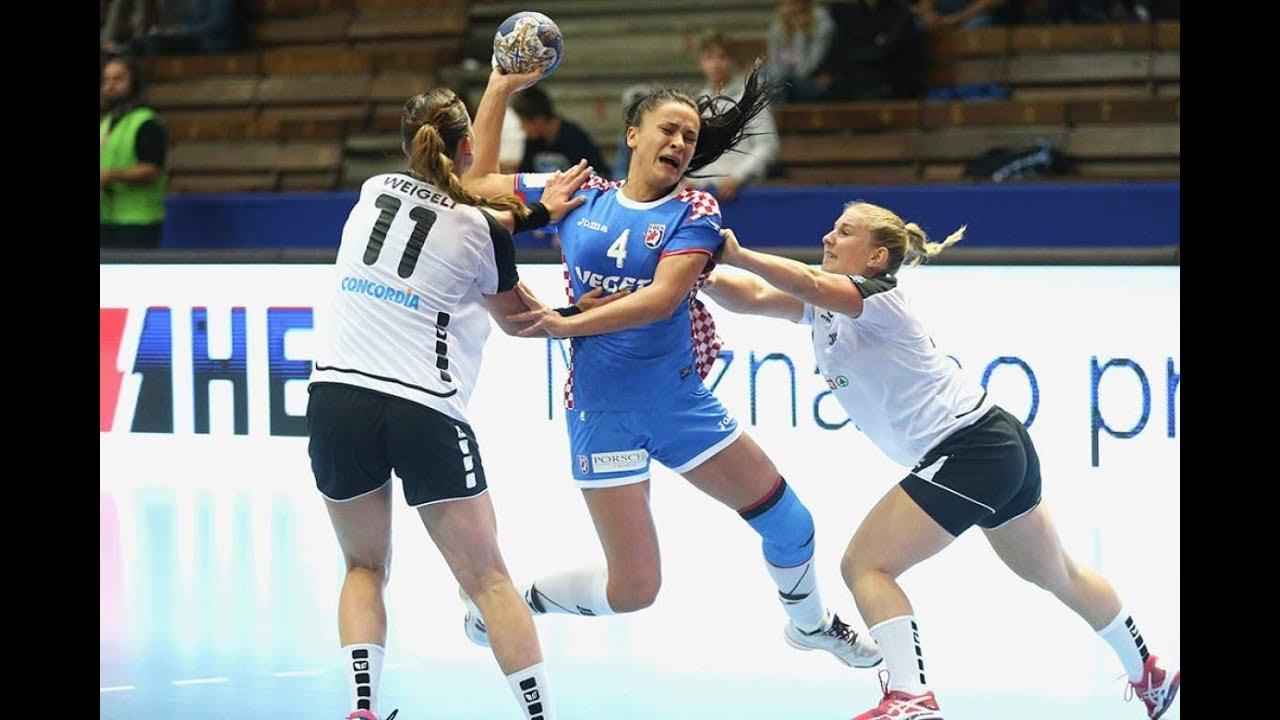 【ハンドボール】華麗なパス回しからの神業シュート!女子だって負けてない!【神業】handball