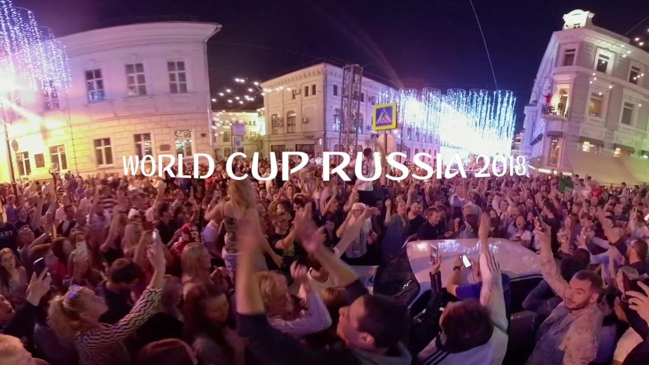 [360VR動画] ワールドカップロシア開幕〜モスクワナイト〜20180614