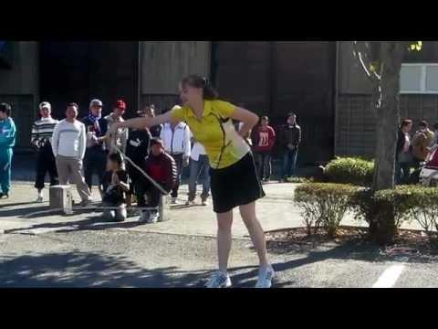 スゴ技先生の縄跳びパフォーマンスに拍手喝采!ブラボー!!ロープスキッピング