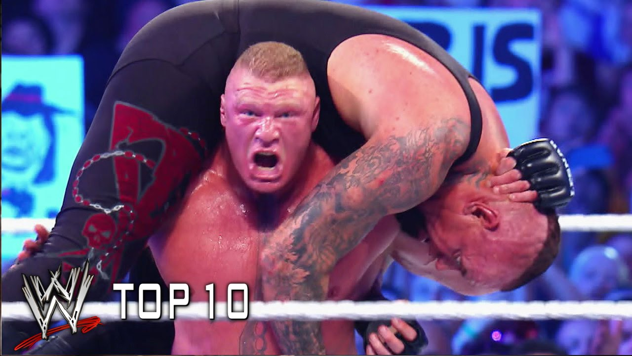 Here comes the pain! – WWE Top 10