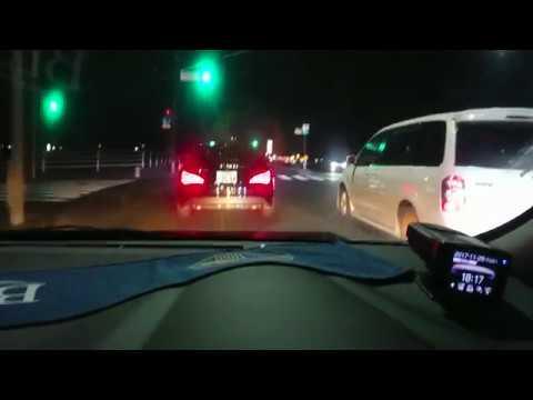 【ドラレコ】危険運転をするクソベンツを中継 煽り 車線割り 北九州