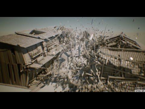 豚×京都 ~UE4でなろう破壊神~ (UE4 VFX Art Dive)