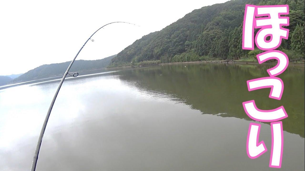 【ほっこり釣行記】ニコニコ汽水ぶっこみ釣り
