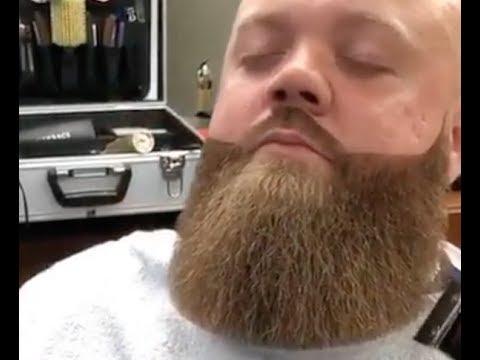 見てて気持ちいい!!!海外の髭剃り動画まとめ!!!スッキリ!!!