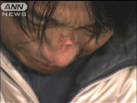 知人2人の遺体確認受け、片山右京さんが号泣会見(09/12/19)