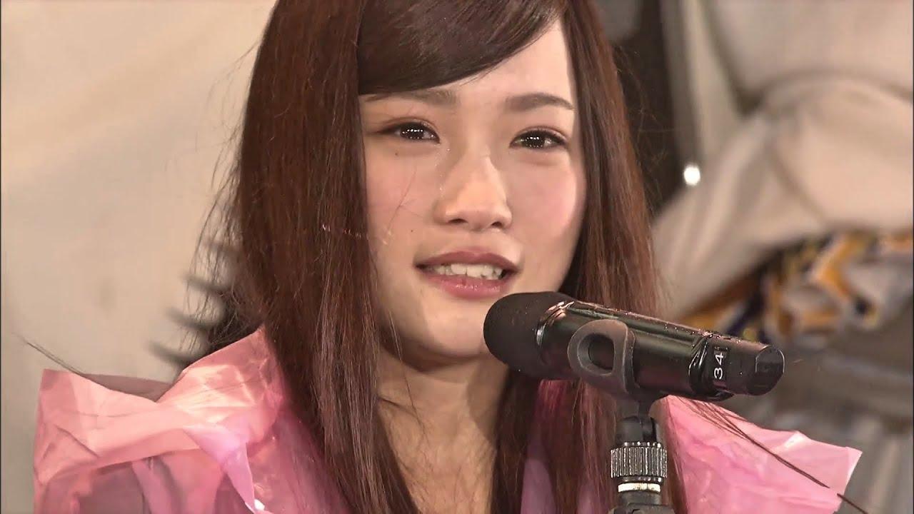 AKB48川栄李奈握手事件後のサプライズ登場 「川栄李奈最後の総選挙演説」2013 – 2014