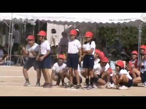 身動きがとれない・・・ハプニング!会場は爆笑の渦!小学校おもしろ運動会