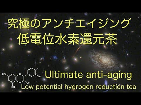 究極のアンチエイジング低電位水素還元茶