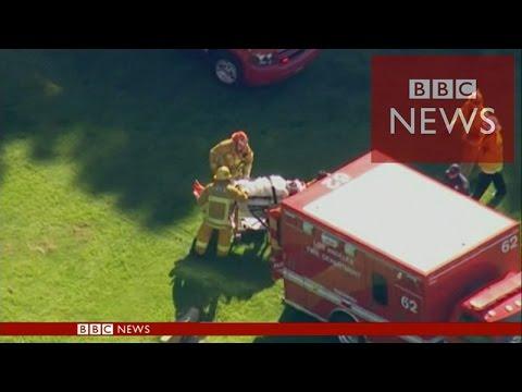 【BBC】 ハリソン・フォード事故 さすがの見事な不時着