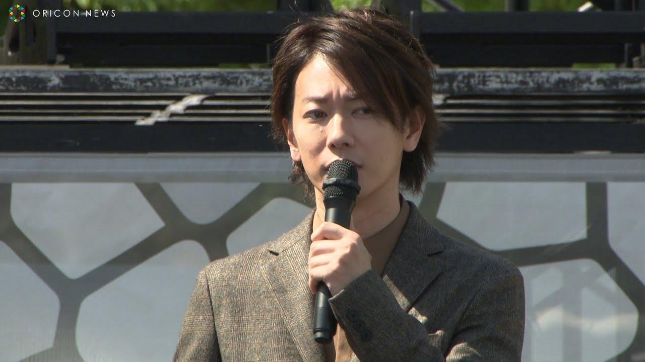 佐藤健、熊本城復旧記念イベントにサプライズ登場