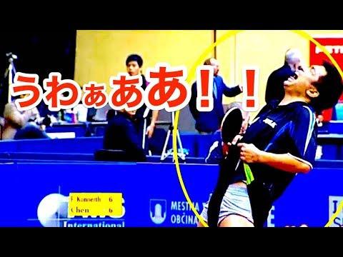【卓球】怒んなよ。。。ポイントを取られ、キレるあかんシーン集!!【衝撃】Scary scene【table tennis】